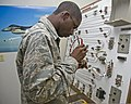 U.S. Air Force Airman Basic Jordon Walker, with the 364th Training Squadron, learns how to troubleshoot an electrical fire warning system on an F-15 Fighting Falcon aircraft at Sheppard Air Force Base, Texas 110923-F-NF756-001.jpg