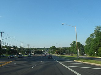 U.S. Route 1 in Virginia - Route 1 in Fairfax County, Virginia, near Alexandria