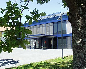 Environmental Campus Birkenfeld - Central New Building in the center of the campus.