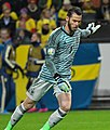 UEFA EURO qualifiers Sweden vs Spain 20191015 David de Gea 4.jpg