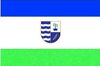 Svaliava - Image: UKR Сваля́вський райо́н flag