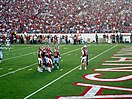 Arkansas Razorbacks Football in War Memorial Stadium