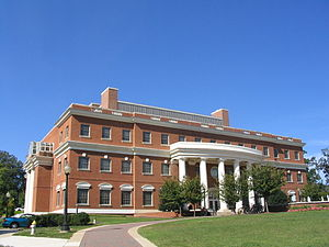 University of Mary Washington - Jepson Hall houses the Science department