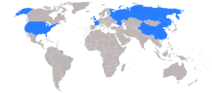 Permanent members of the United Nations Security Council - The permanent members of the United Nations Security Council.