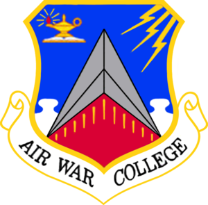 Air University (United States Air Force) - Air War College emblem