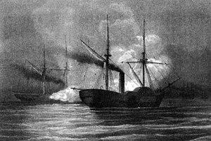 USS Hatteras (1861) - USS Hatteras