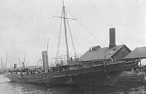 First Battle of Manzanillo - Image: USS Hornet (1898)