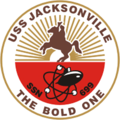 USS Jacksonville SSN-699 Crest.png