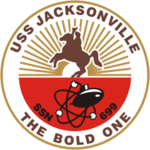 USS Jacksonville SSN-699 Crest.png