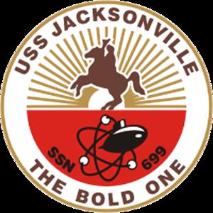 USS Jacksonville - Image: USS Jacksonville SSN 699 Crest