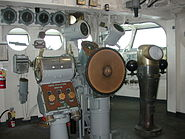 USS Lexington Helm