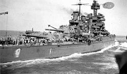USS Maryland c1945 WAPA 2699 011