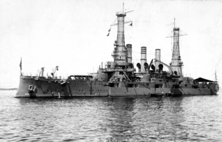 USS <i>New Hampshire</i> (BB-25) Pre-dreadnought battleship of the United States Navy
