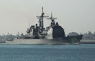 USS <i>Port Royal</i> (CG-73) US Ticonderoga-class cruiser