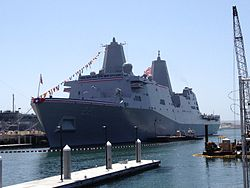 USS San Diego (LPD-22) at commissioning, 19 May 2012.jpg