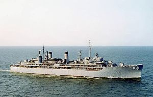 USS Sierra (AD-18) underway near Hampton Roads in the early 1960s.jpg