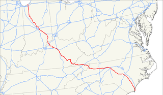 U.S. Route 421 highway in the United States