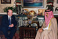US Navy 030219-N-3399W-001 Secretary of the Navy visits with the King of Bahrain.jpg
