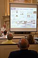 US Navy 070703-N-8110K-013 Vice Adm. Paul Sullivan, commander of Naval Sea Systems Command, presents a lecture on the future of Navy ships and systems at Boston's historic Old South Meeting House.jpg