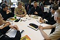 US Navy 090430-N-9818V-024 Master Chief Petty Officer of the Navy (MCPON) Rick West speaks with Sailors from Naval Air Station Whidbey Island attending the Individual Agumentee symposium.jpg