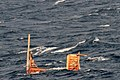 US Navy 110314-N-XXXXX-003 Debris is seen adrift in the Pacific Ocean off the coast of Japan.jpg