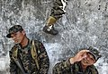 US Navy 110315-N-EC642-250 Honduran soldiers assigned to 11th Honduran Army Battalion perform wall climbing drills during a weeklong subject matter.jpg