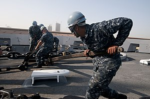 US Navy 120107-N-PB383-321 Sailors secure an anchor.jpg