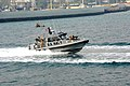US Navy 120107-N-RP435-013 Sailors patrol Kuwait Naval Base's harbor.jpg