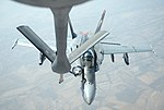 US Navy F-18E Super Hornets supporting operations against ISIL 141004-F-FT438-076.jpg