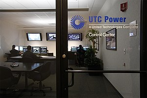 UTC Power - UTC Power's Control Center located onsite at 195 Governor's Highway in South Windsor, CT