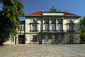Tyszkiewicz Palace, Warsaw - Tyszkiewicz Palace
