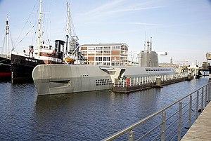 German submarine Wilhelm Bauer - Wilhelm Bauer in Bremerhaven