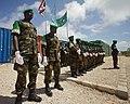 Ugandan AMISOM Guard of Honour for Burundi Defence Minister (6243479086).jpg