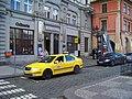 Uhelný trh, taxistanoviště a restaurant La Fabrique.jpg