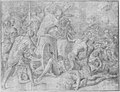 Ulysses and His Companions Fighting the Cicones Before the City of Ismaros, Study for a Destroyed Fresco in the Galerie d'Ulysee, Chateau de Fontainebleau MET 176716.jpg