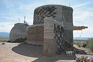 Unfinished Earthship