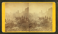 Unidentified view of the fire in Boston, November, 1872, by Holton and Robinson.png