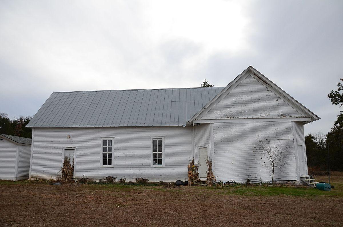 Union Church And School Paris Arkansas Wikipedia