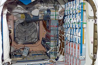 Unity (ISS module) - Interior of Node 1