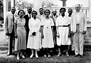 4-H - 4-H Home demonstration agents in Florida in 1933