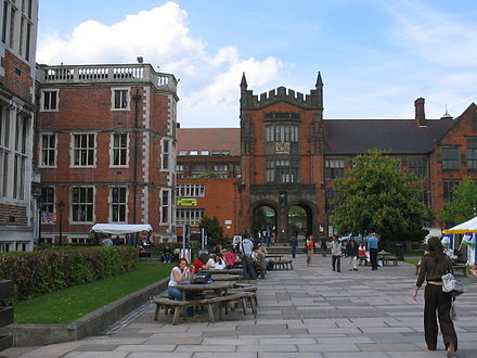 Newcastle has one of the country's largest universities for research University of Newcastle Upon Tyne.jpg