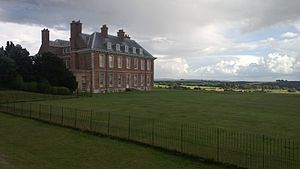 Uppark - Uppark, side view