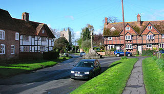 East Hagbourne village and civil parish in South Oxfordshire, England
