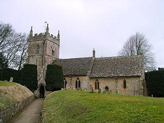 Upper Slaughter - Image: Upper Slaughter Church (5)