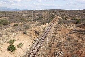 Usambara Railway - Image: Usambara Railway tracks