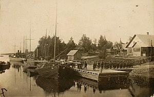 Värska - Image: Värska sadam 1930