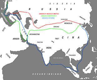 Viaggi dei 3 Polo in Asia
