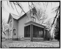 VIEW OF WEST SIDE AND SOUTH FRONT - Conrad Fox, Jr. House, 3500 Rapids Court, Mount Pleasant, Racine County, WI HABS WIS,51-MTPLE,1-8.tif