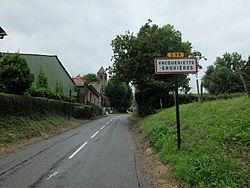 Vacqueriette-Erquières - Entrée d'Erquières.JPG