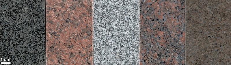 चित्र:Various granites.jpg